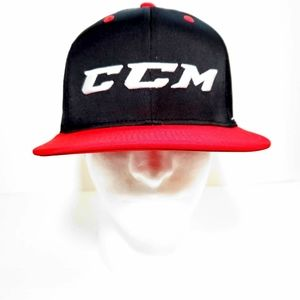 CCM JetSpeed Snapback Hat Black Red White